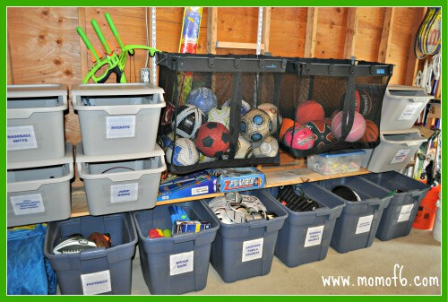 Garage Clean Out Reveal Love my bin wall The Great Garage Challenge  The Big Reveal!