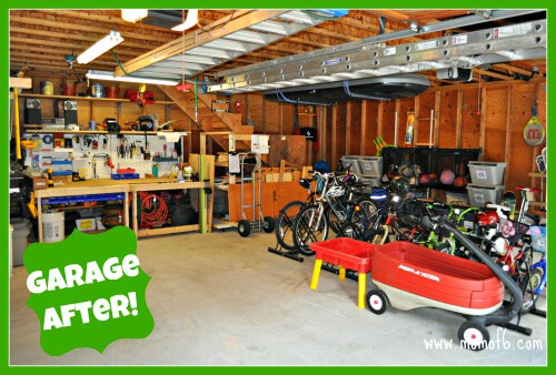 Garage Clean Out Reveal Main Level after The Great Garage Challenge  The Big Reveal!