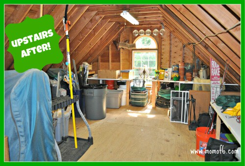 Garage Clean Out Reveal Upstairs After The Great Garage Challenge  The Big Reveal!