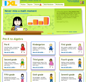 IXL Program 300x285 4 Tips on How to Avoid the Summer Slide
