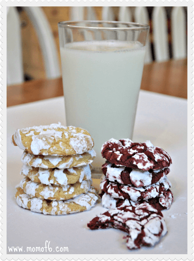Lemon and Red Velvet COOL WHIP Cookies Final Chewy Lemon COOL WHIP Cookies!