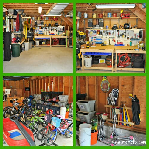 Main Level Collage The Great Garage Challenge  The Big Reveal!