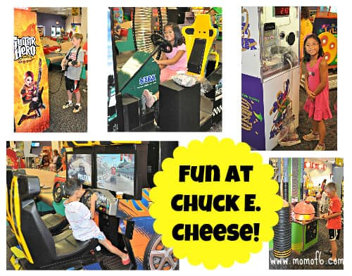 fun at chuck e cheese 5 Tips for Moms on Surviving a Visit to Chuck E Cheese!