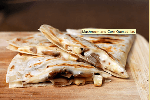 Campfire Quesadillas Links to  Love: Great Camping Ideas
