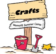 Summer Camp at Home Crafts