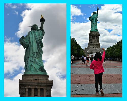 Standing Like Lady Liberty 5 Reasons to Visit the Statue of Liberty with Kids!