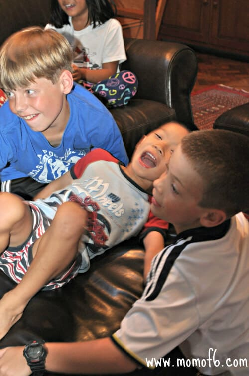 Kids Using Their Imagination: Virtual Roller Coaster Ride!