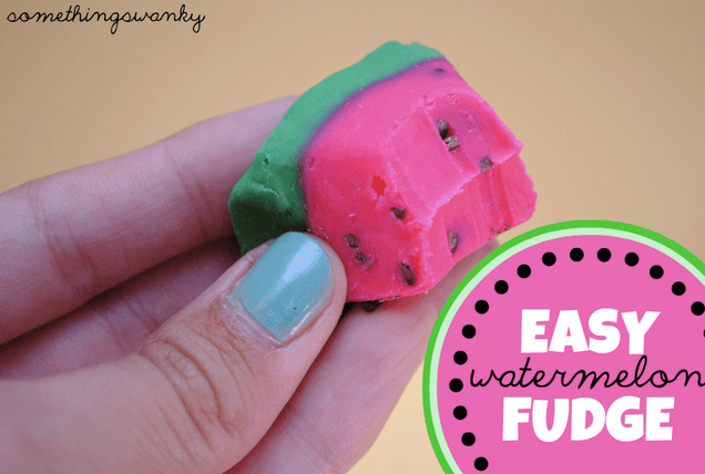 Watermelon Fudge Links to Love: The Watermelon Edition