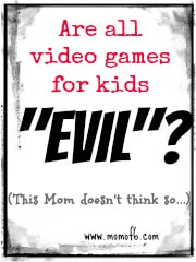 Are all video games for kids 