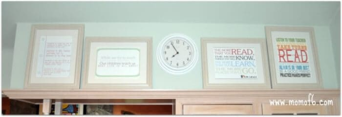 Link up YOUR Back to School Subway Art Printables!