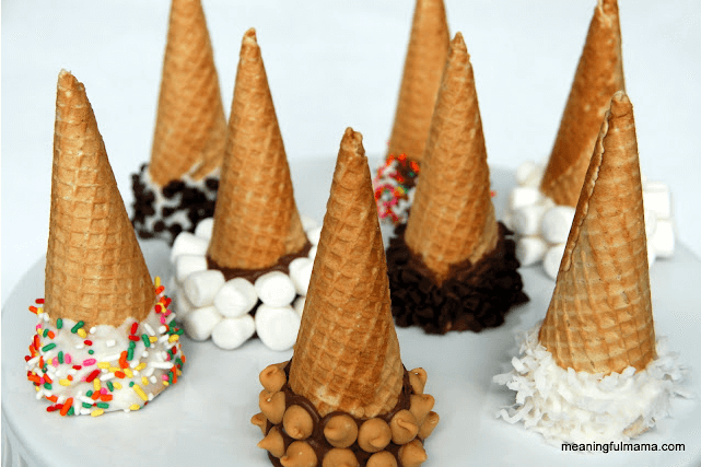 Chocolate Dipped Ice Cream Cones Links to Love: Continue the Summer Fun!
