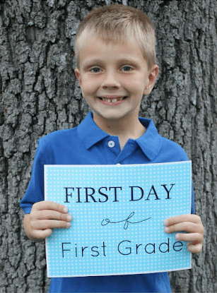First Day of School Printables Links to Love: The Back to School Edition
