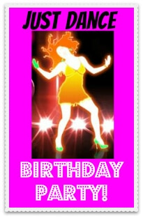 Just Dance Birthday Party Badge Great 9 Year Old Girls Birthday Party Idea: A Spa Party!