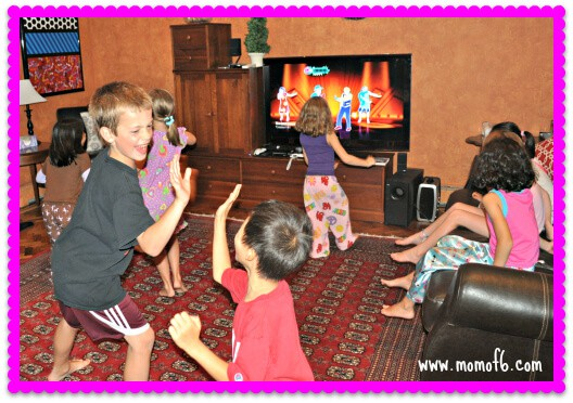 Just Dance Half Sleepover Party Dancing 7 Year Old Girl Birthday Party Idea: Just Dance Half Sleepover Party!