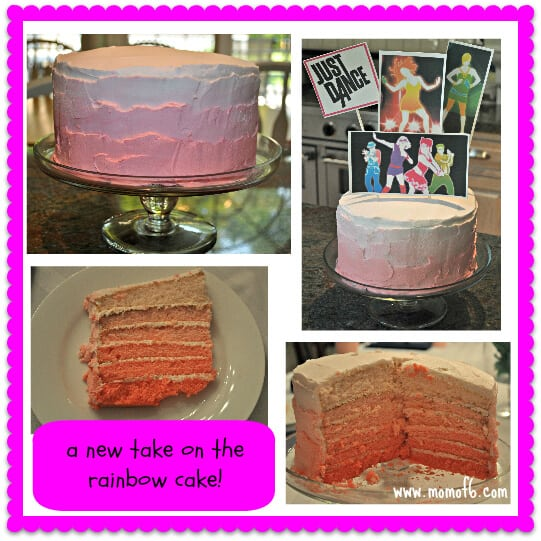 Just Dance Party Birthday Cake 7 Year Old Girl Birthday Party Idea: Just Dance Half Sleepover Party!