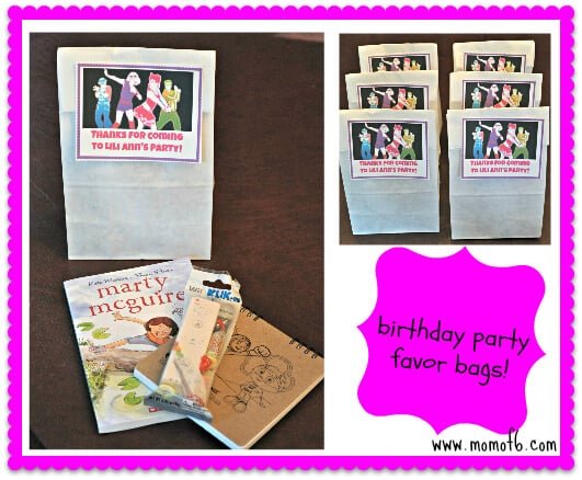Just Dance Party Favor Bags 7 Year Old Girl Birthday Party Idea: Just Dance Half Sleepover Party!