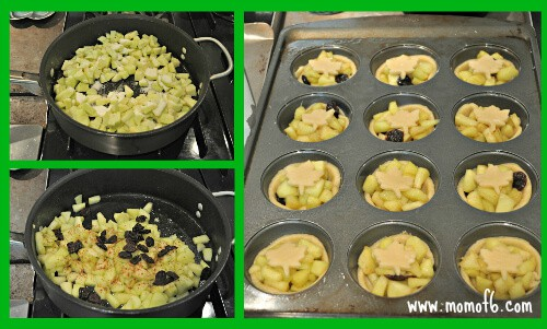 Mini Lunchbox Apple Pies the filling Beyond Bologna: Time Saving School Lunch Tips & Recipe for Mini Lunchbox Apple Pie!