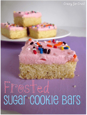 Sugar Cookie Bars Links to Love: Summer Recipes