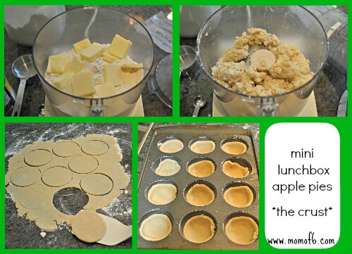 mini lunchbox apple pies the crust Beyond Bologna: Time Saving School Lunch Tips & Recipe for Mini Lunchbox Apple Pie!