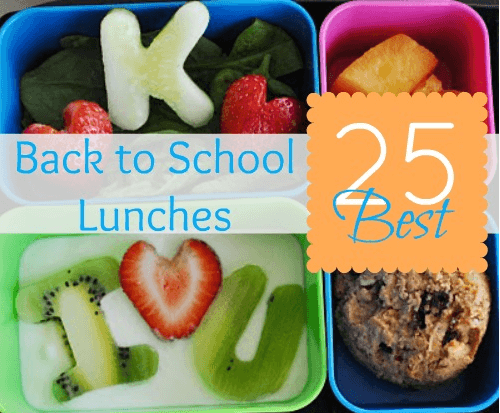 25 Best School Lunch Ideas Links to Love... The Back to School Breakfast Edition