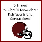 5 things your should know about kids sports and concussions