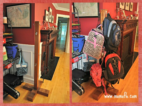 Backpack Rack designed by Steve1 The Worlds Greatest Backpack Stand!