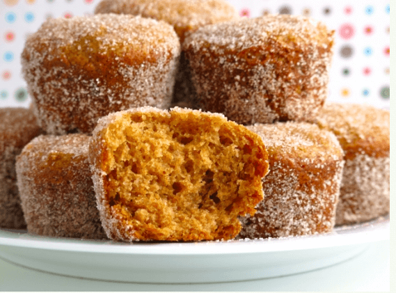 Baked Apple Cider Donut Holes Links to Love: Decorating Inspiration and Fall Yumminess