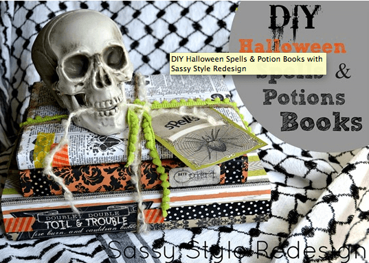 Halloween Potions Books Links to Love: Decorating Inspiration and Fall Yumminess