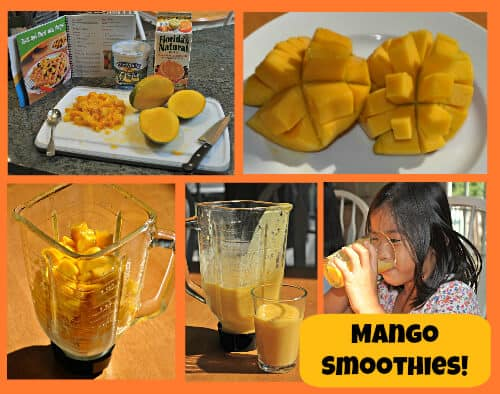 Mango Smoothies How to Make Mango Crepes!