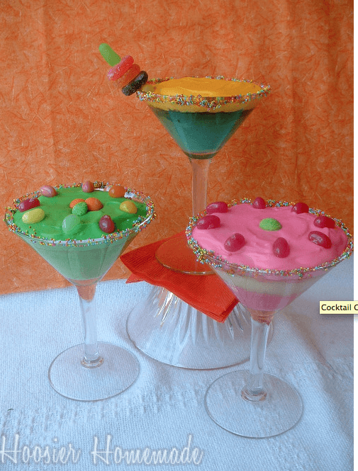 Margarita glass cupcakes Links to Love... The Back to School Breakfast Edition