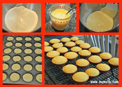 Mini Honey Cornbread Muffins Collage Beyond Bologna Challenge: How do you keep school lunches the right temperature? (also Mini Honey Cornbread Muffins!)