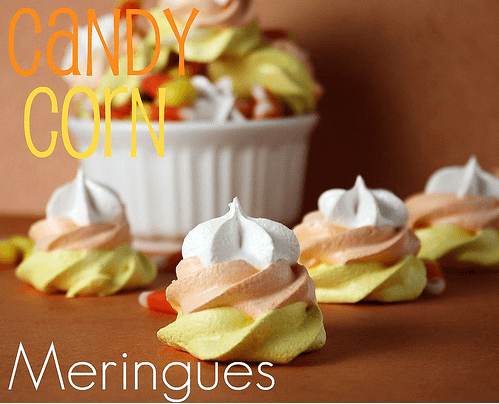 Candy Corn Meringues Links to Love: Halloween Treats for the Classroom