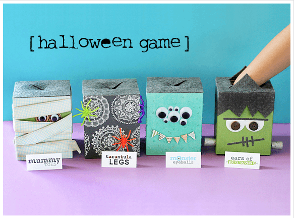 Halloween Feel Boxes Links to Love  Last Minute Easy Halloween Ideas