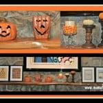 Halloween Subway Art- Family Room