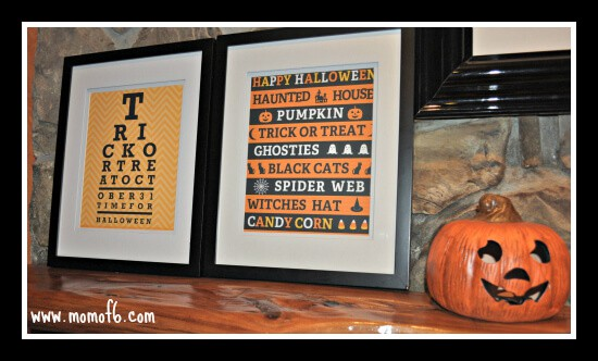 Halloween Subway FR Art 1 The Top 10 Free Halloween Subway Art Printables!