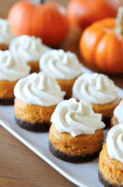 Mini Pumpkin Cheesecakes Links to Love: Cool Stuff to do Right Now!