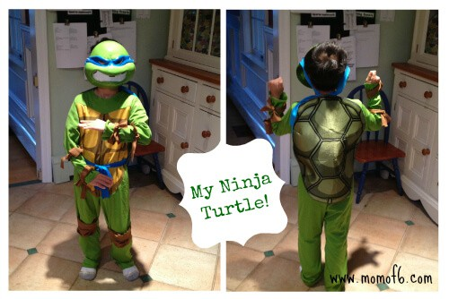 My Ninja Turtle What Do The Kids Want to be for Halloween This Year?