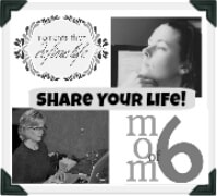 Share Your Life Badge Give To Yourself {Share Your Life}