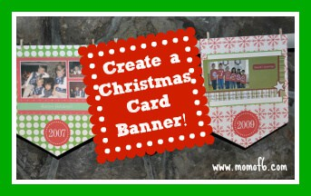 Christmas Card Banner