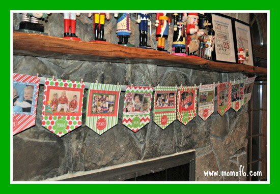 Christmas Card Banner- Long View