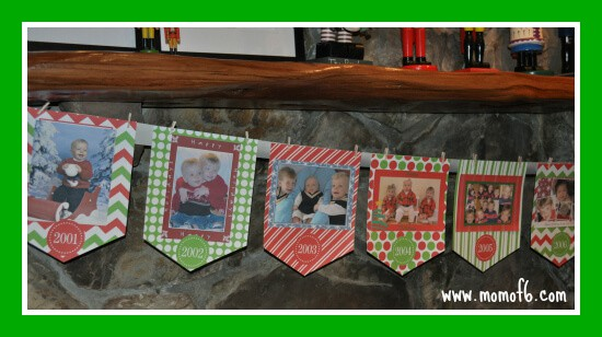 Christmas Card Banner Getting Ready for the Holidays: How I Plan to Create a Holiday Memory