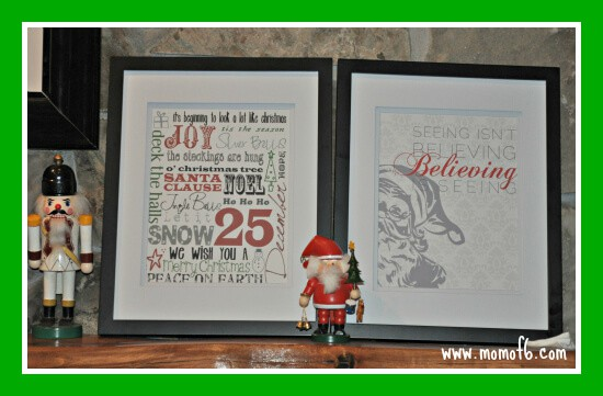 Christmas Subway Art14 The Ten Best Free Christmas Subway Art Printables!