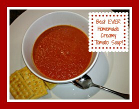 Best Ever Creamy Tomato Soup