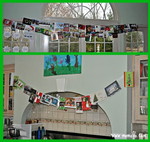 Displating Christmas Cards Getting Ready for the Holidays: How I Plan to Create a Holiday Memory