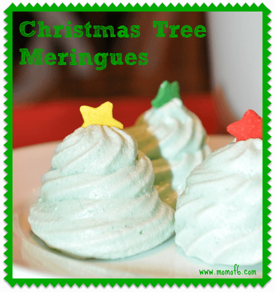 Christmas Tree Meringue Cookies8 Christmas Tree Meringue Cookies! {I Pinned It and I Tried It!}