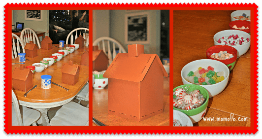 Easy Gingerbread House Set Up How to Make An Easy Gingerbread House!