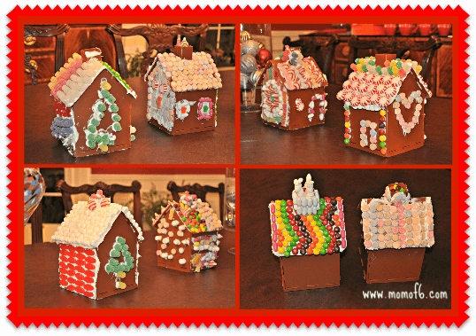 Easy Gingerbread Houses 8 great examples How to Make An Easy Gingerbread House!