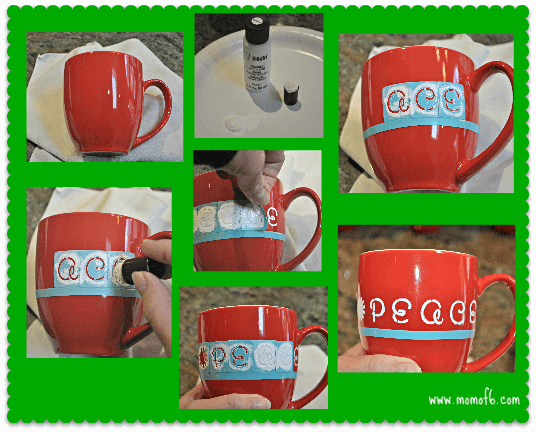 Making Hand Stenciled Mugs A Homemade Gift Idea that Even YOU Would Love to Receive!