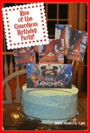 Rise of the Guardians Birthday Party