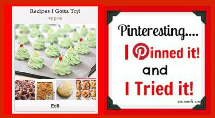 recipes I gotta try christmas tree meringues Christmas Tree Meringue Cookies! {I Pinned It and I Tried It!}